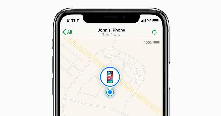 Найти свой iPhone