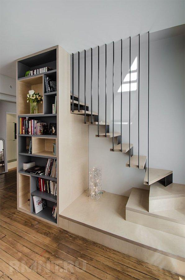 Лестницы, перетекающие в нечто иное